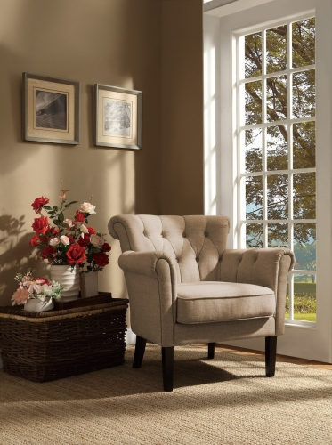 Barlowe Accent Chair - Oatmeal