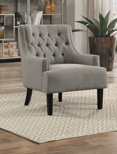 Charisma Accent Chair - Taupe