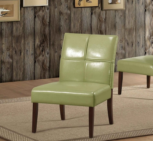 Oriana Accent Chair - Green