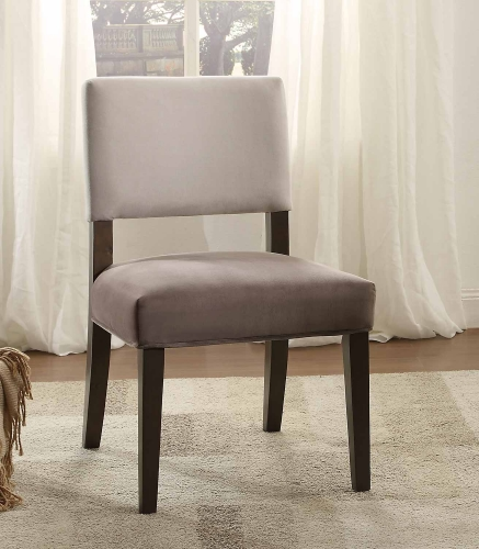 Jacinta Two-Toned Accent Chair - Grey