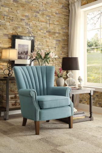 Essex Accent Chair - Blue
