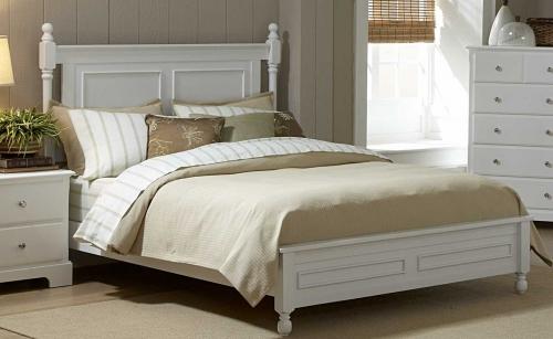 Morelle Bed - White