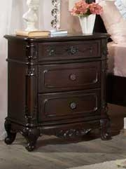 Cinderella Night Stand - Dark Cherry