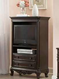 Cinderella TV Armoire - Dark Cherry