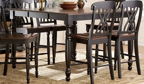 Ohana Counter Height Table - Black