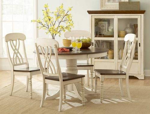 Ohana Round Dining Set - White