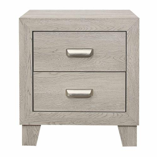 Quinby Night Stand - Light Gray