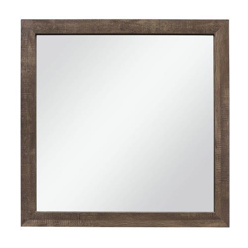 Corbin Mirror - Rustic Brown