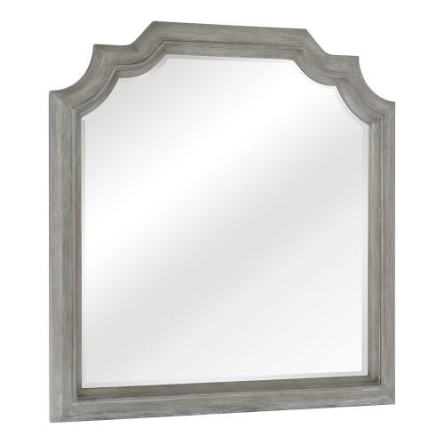 Colchester Mirror - Driftwood Gray