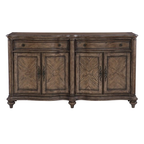 Heath Court Buffet Server - Brown Oak