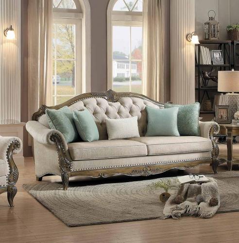 Moorewood Park Sofa - Natural Tone Fabric