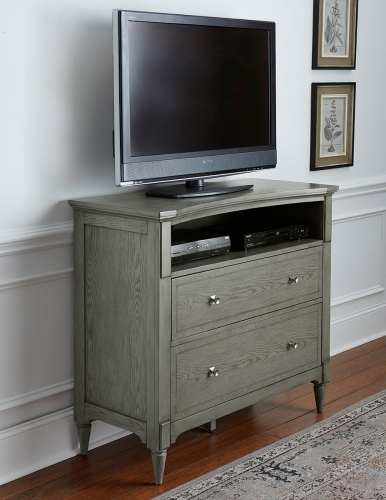 Albright TV Chest - Barnwood Grey