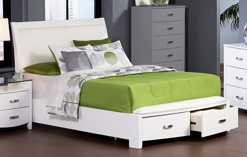 Lyric Platform Bed with Storage