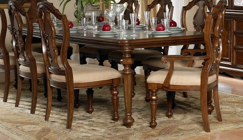 Montrose Dining Table - Warm Brown