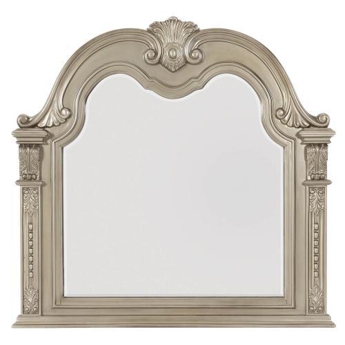 Cavalier Mirror - Silver
