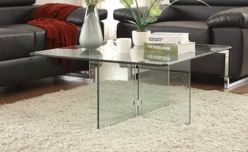 Alouette Cocktail Table - Glass