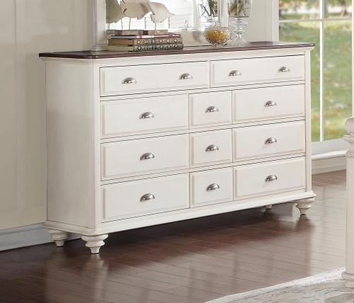 Floresville Dresser - Antique White