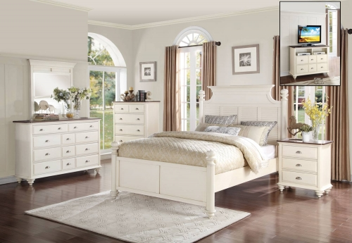 Floresville Bedroom Set - Antique White