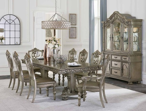 Catalonia Dining Set - Platinum Gold