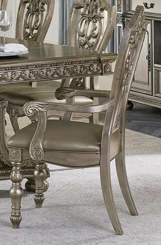 Catalonia Arm Chair - Platinum Gold