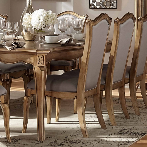 Chambord Side Chair - Antique Gold