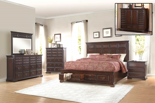 Cranfills Bedroom Set - Cherry