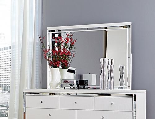 Homelegance Alonza Mirror - White
