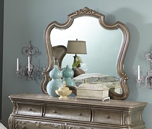 Florentina Mirror - Silver/Gold