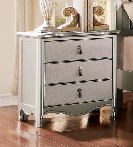 Toulouse Night Stand - Champagne