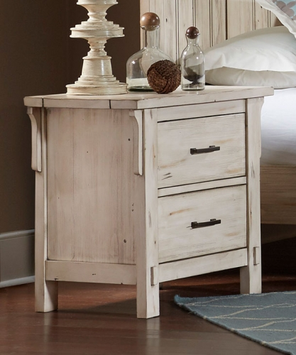 Terrace Night Stand - Antique White