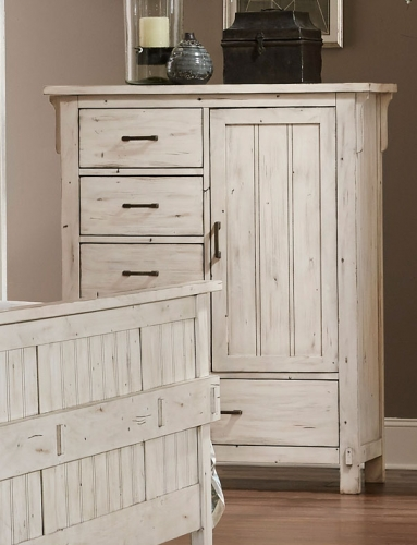 Terrace Door Chest - Antique White