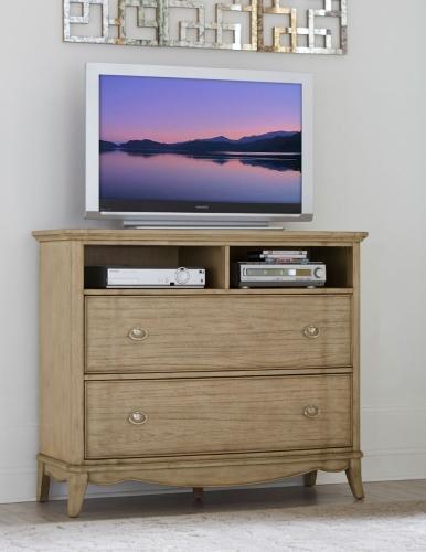 Ashden TV Chest - Driftwood