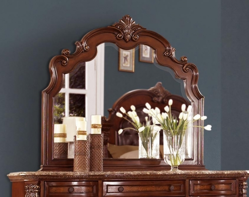 Antoinetta Mirror - Warm Cherry