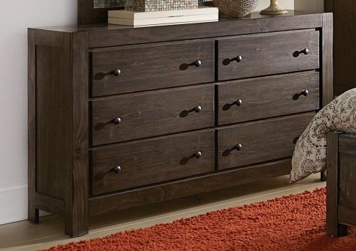 Farrin Dresser - Dark Rustic Pine