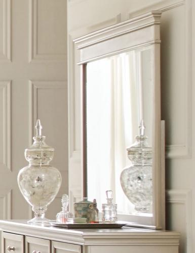 Celandine Mirror - Silver