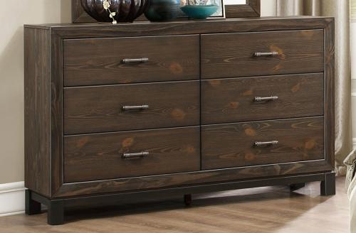 Branton Dresser - Antique Brown