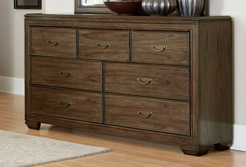 Leavitt Dresser - Brown Cherry