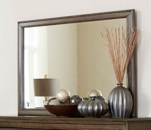 Leavitt Mirror - Brown Cherry