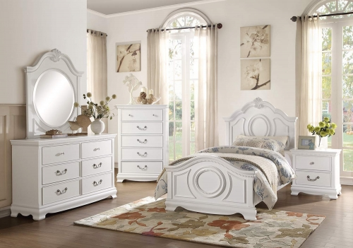 Lucida Bedroom Set - White