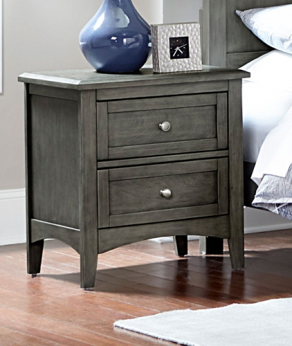 Garcia Night Stand - Gray