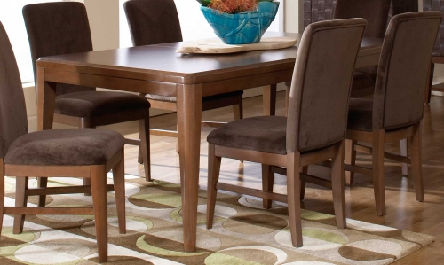 Beaumont Rectangular Dining Table - Brown Cherry