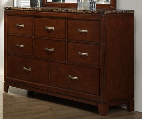 Ottowa Dresser - Faux Marble Top