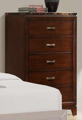 Ottowa Chest - Faux Marble Top