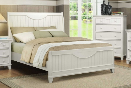 Alyssa Bed - White