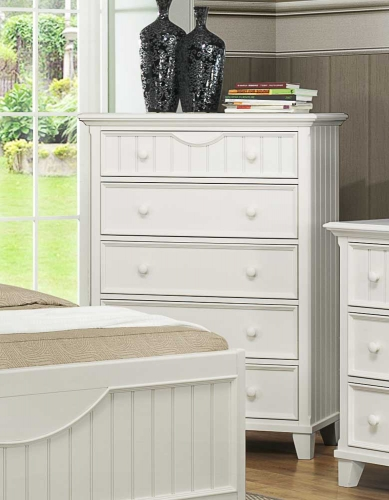 Alyssa Chest - White
