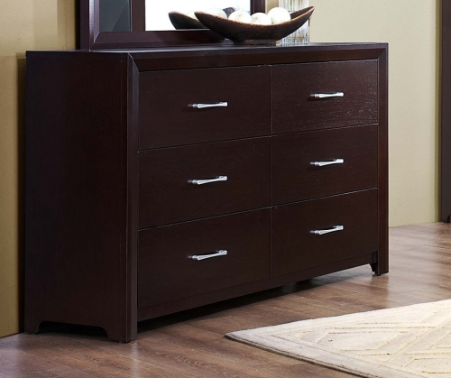 Edina Dresser - Brown Espresso