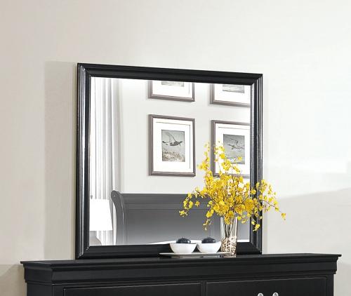 Mayville Mirror - Black