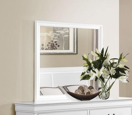 Mayville Mirror - White