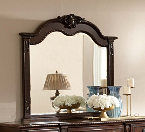 Hillcrest Manor Mirror - Cherry