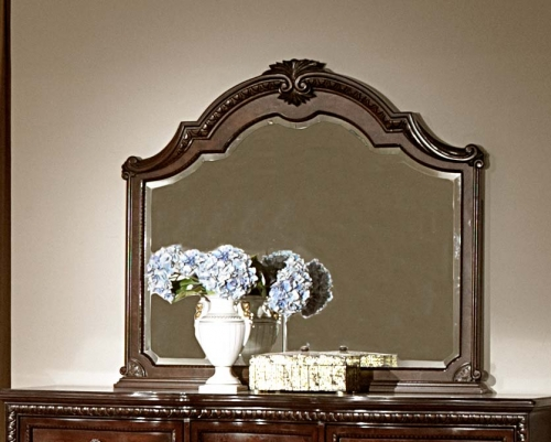 Hampstead Court Mirror - Cherry